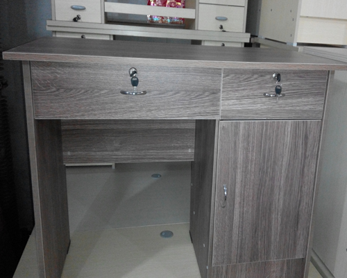 1.2米麻灰色电脑桌