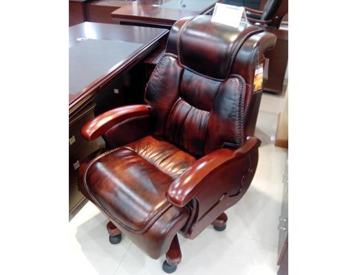 意大利水牛皮老板椅