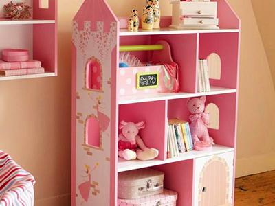 公主式儿童柜