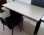 1.2米青色电脑桌